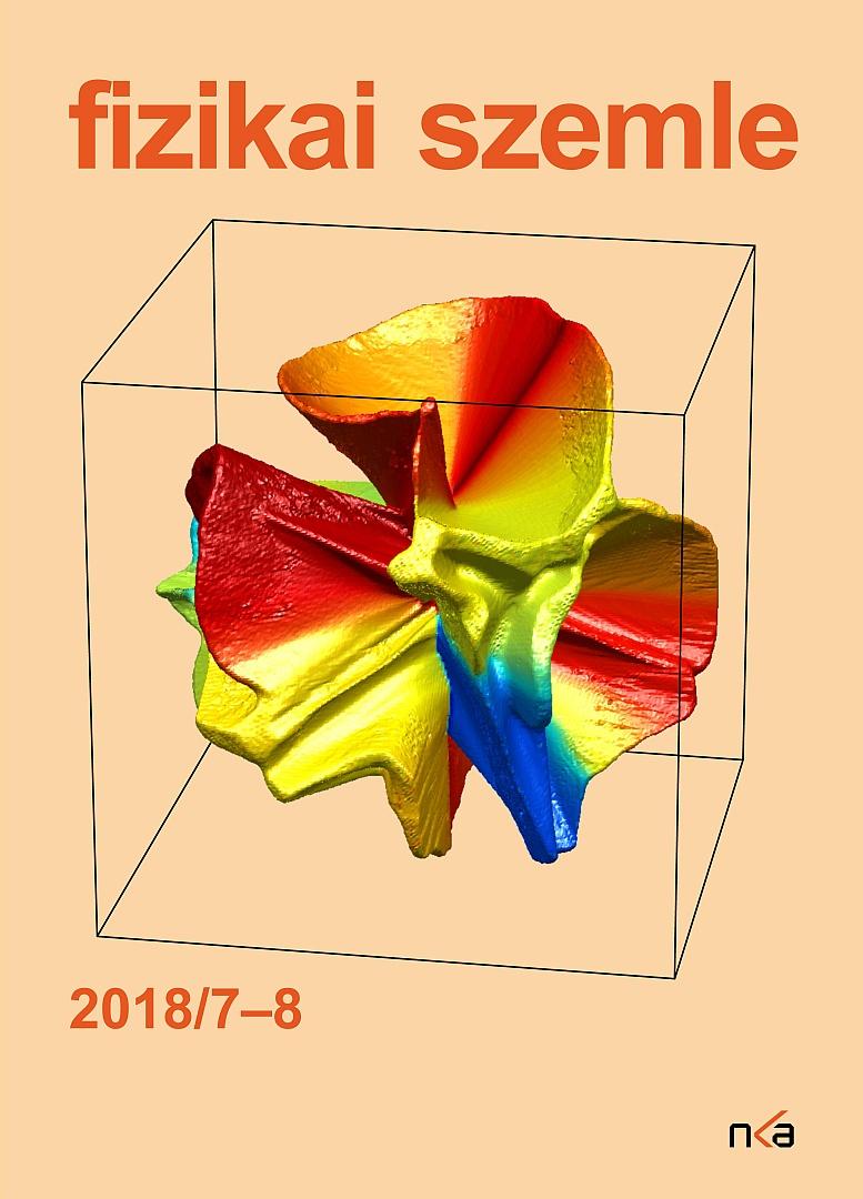 Fizikai szemle 2018 08 borítókép